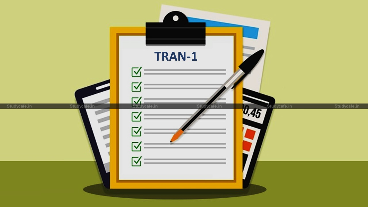 Time period for claiming refund of excess Service Tax paid under TRAN-1