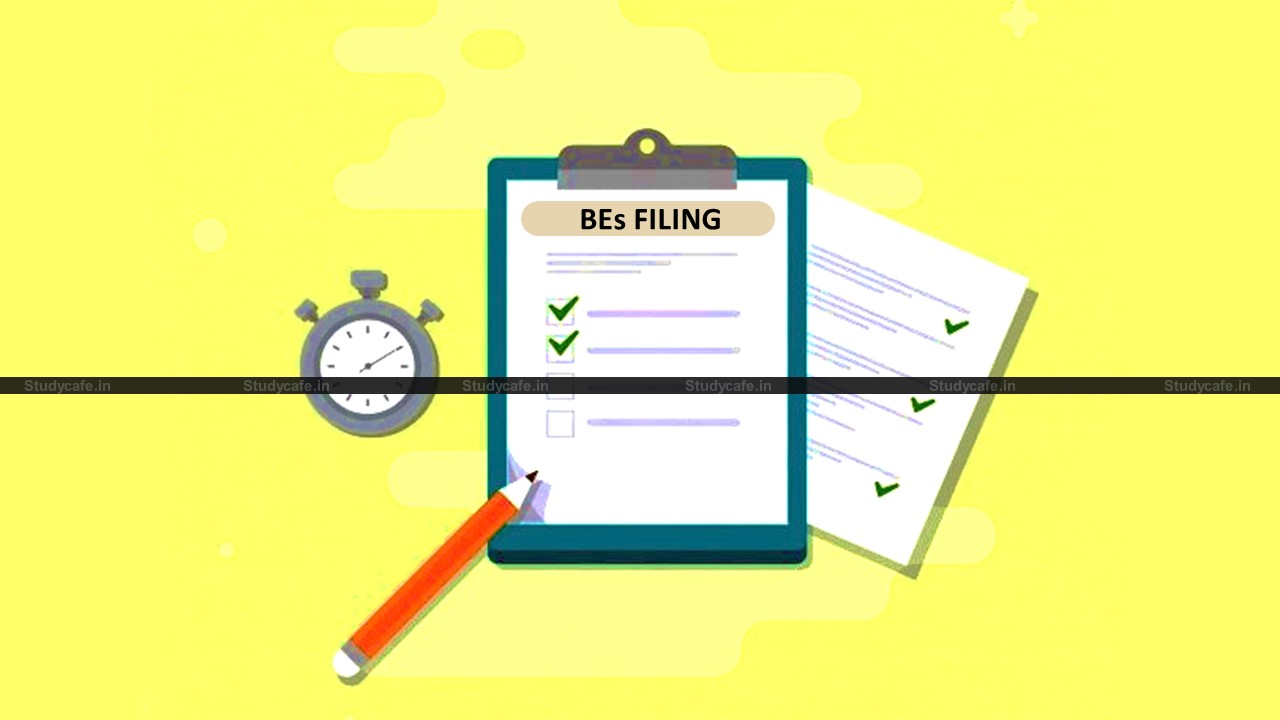 CBIC Circular on Revised timelimit for filling of BEs