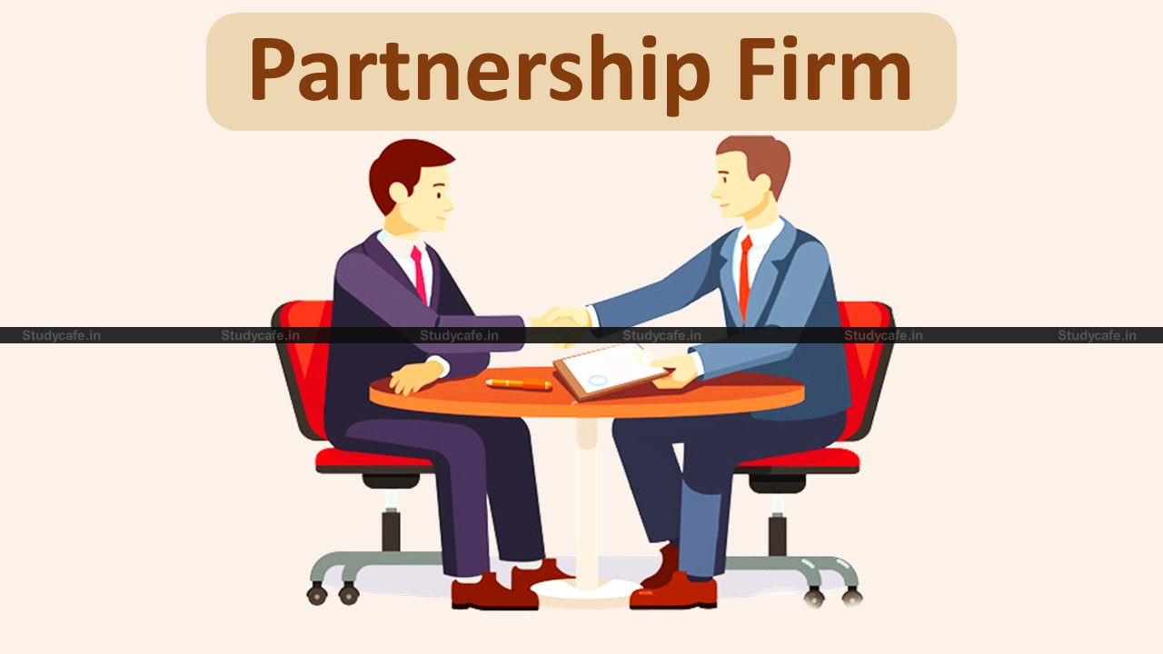 GST liability as a partner of a partnership firm