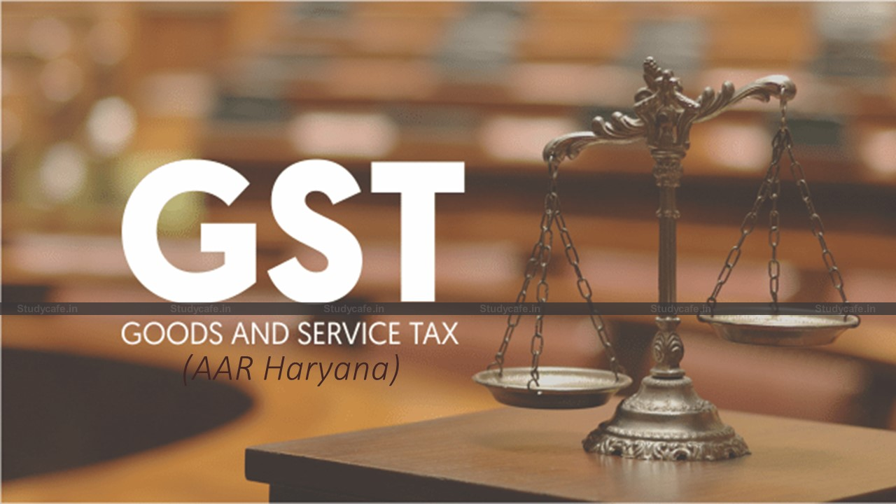 GST @ 5% not applicable for the facilities provided in self-owned marriage and party halls
