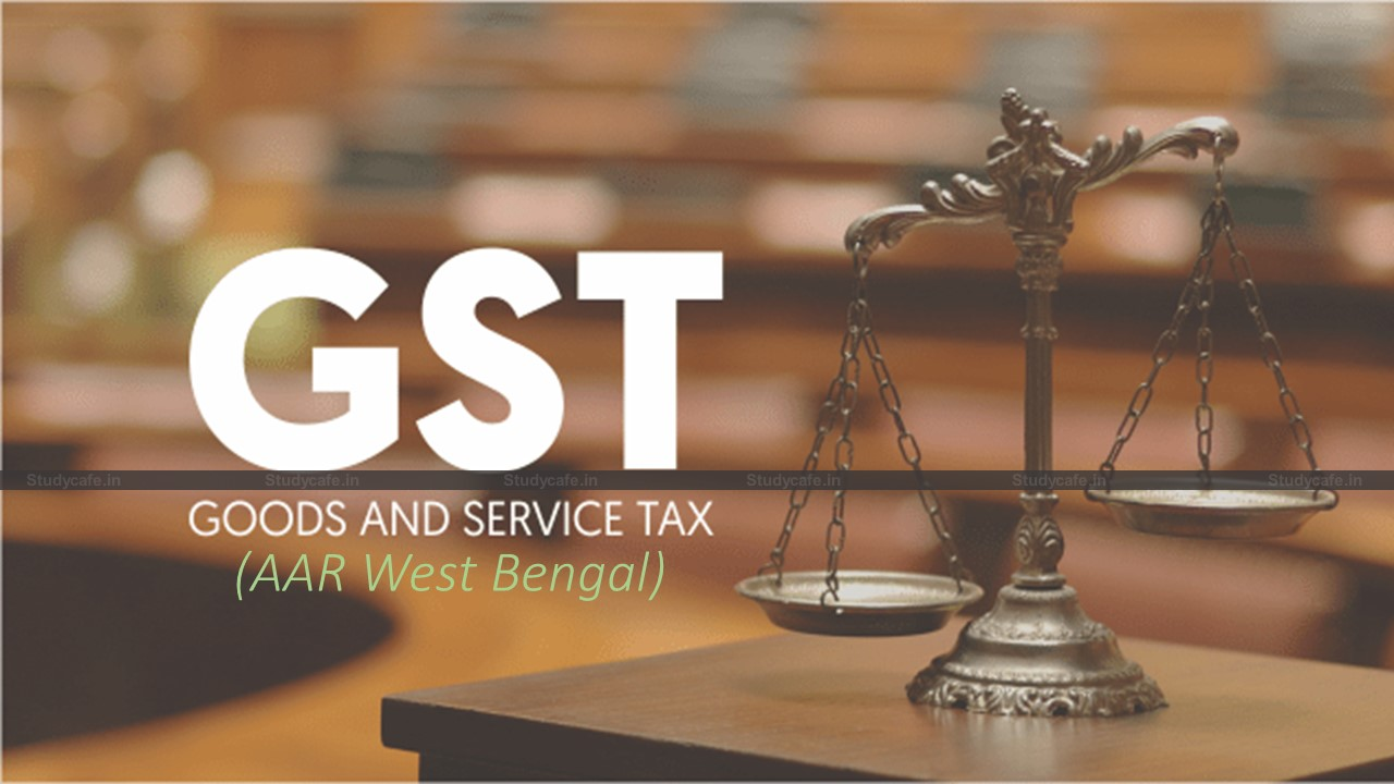 Supply of catering services to the educational institution exempt from GST : AAR