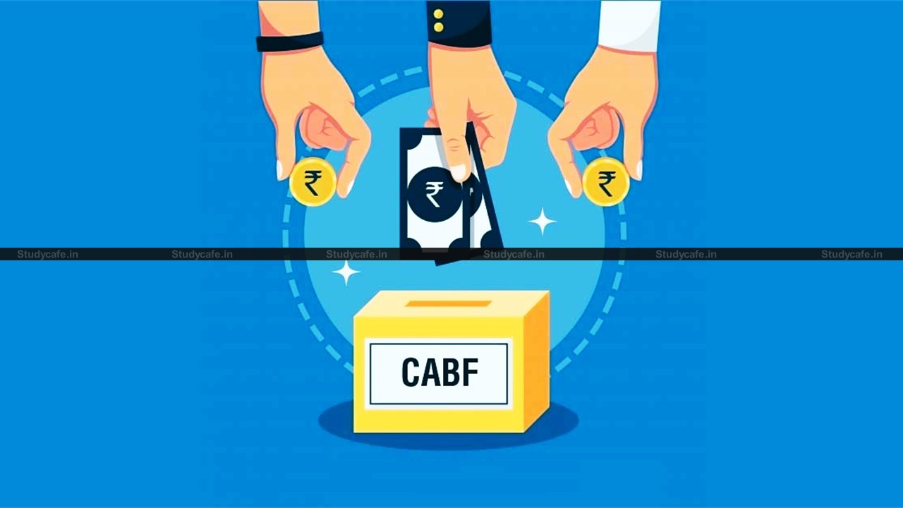 ICAI Appeals to Members for contributing generously to Chartered Accountants' Benevolent Fund
