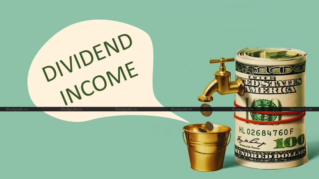 CBDT issues Format, Procedure & Guidelines for submission of SFT for Dividend income