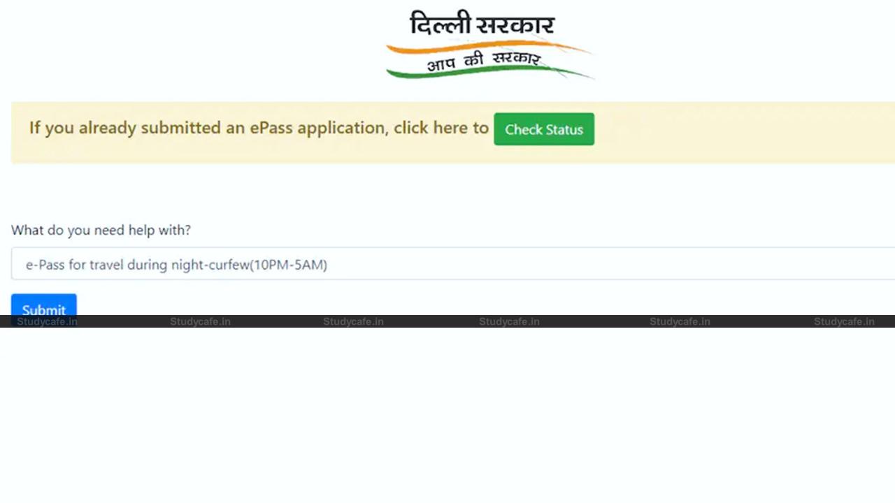 Get Covid-19 E-Pass in Delhi – Brief Process