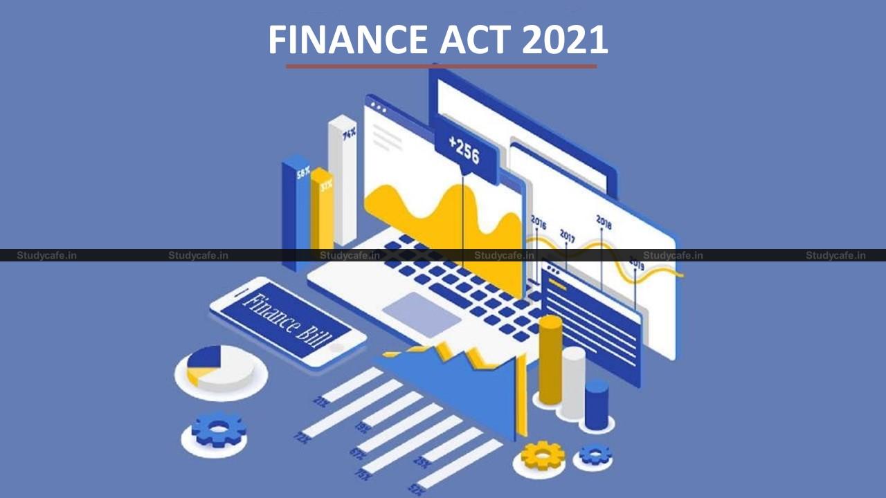 CBDT rectifies 10 mistakes in FINANCE ACT 2021
