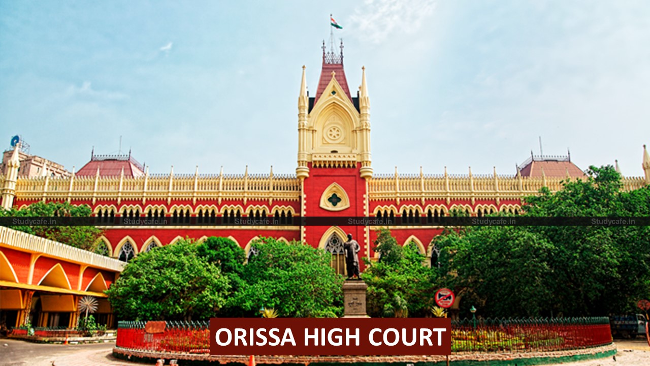 No notice demanding payment of GST to be sent to Lawyers – Orrisa HC