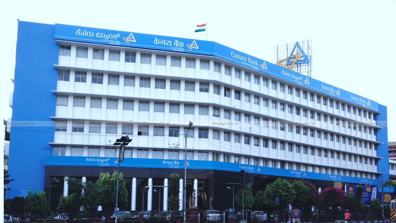 Canara Bank Invites Application for Empanelment as Concurrent Auditors for 529 Branches