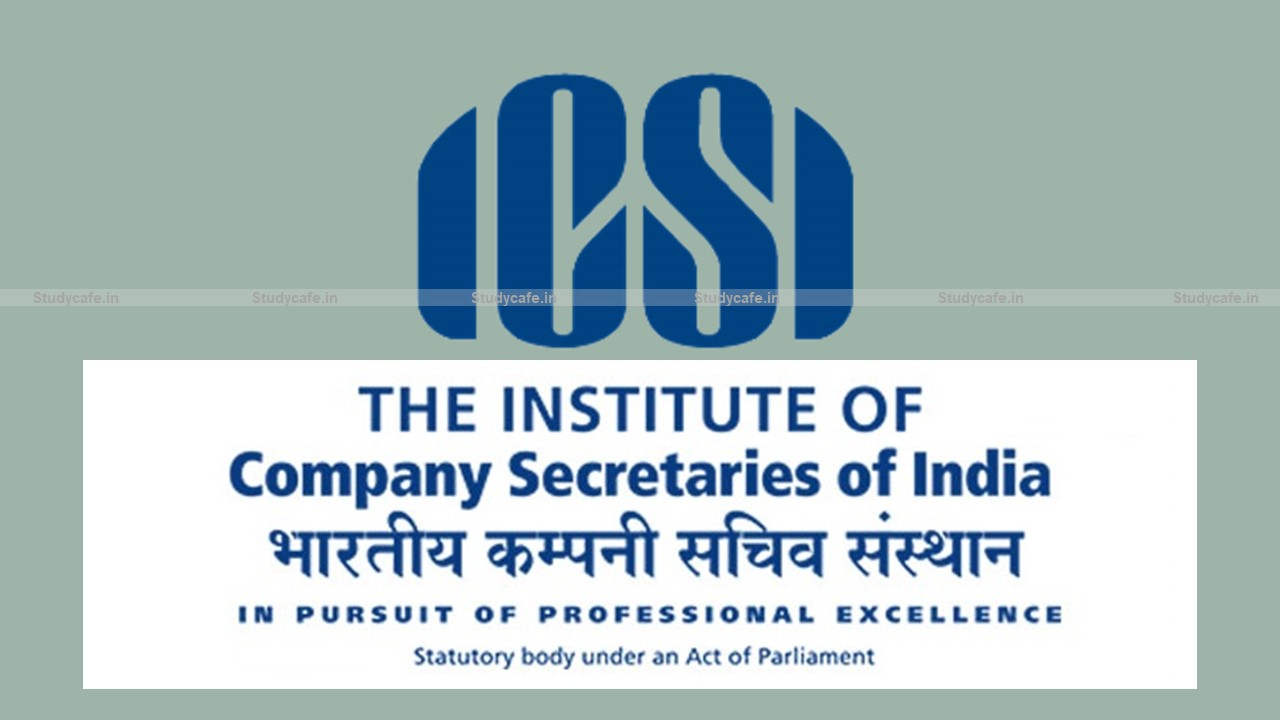 ICSI issued Study material of Executive and Professional Programme