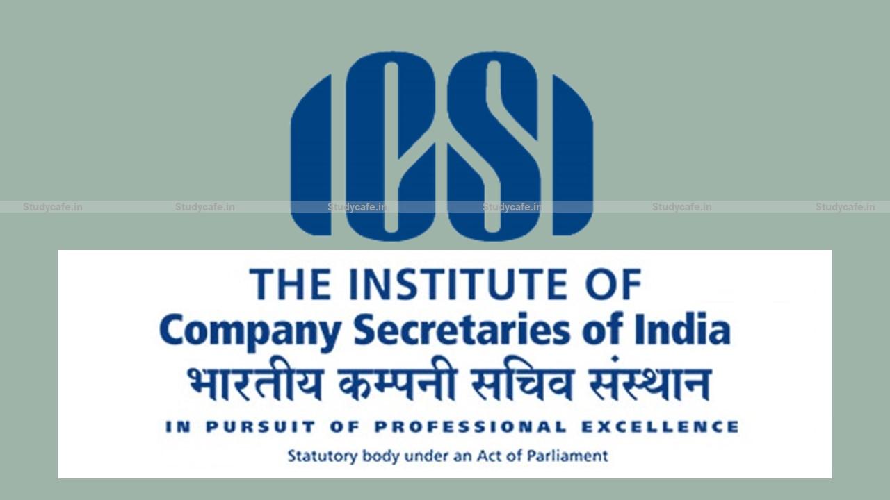 Extension of ICSI UDIN Amnesty Scheme 2021 Till May 31st 2021