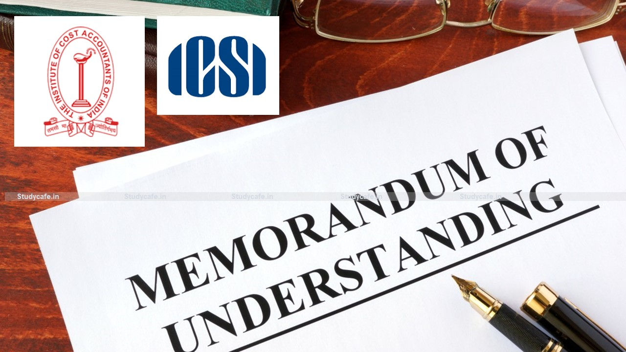 Cabinet approves MoUs entered into by ICoAl and ICSI with Foreign Countries/Organisations
