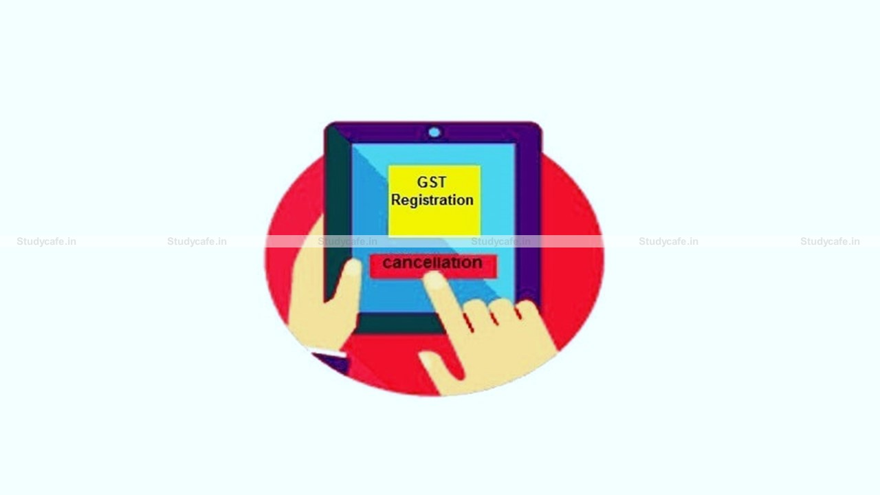 Extension of due date of filing Application for Revocation of Cancellation of GST Registration