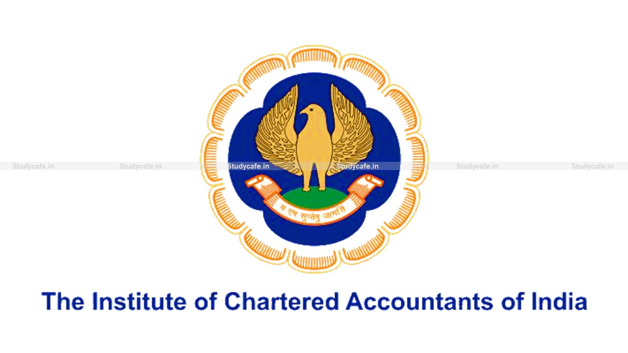 ICAI Waivied off Condonation Fees due to late filing of application Form 18 amid COVID-19