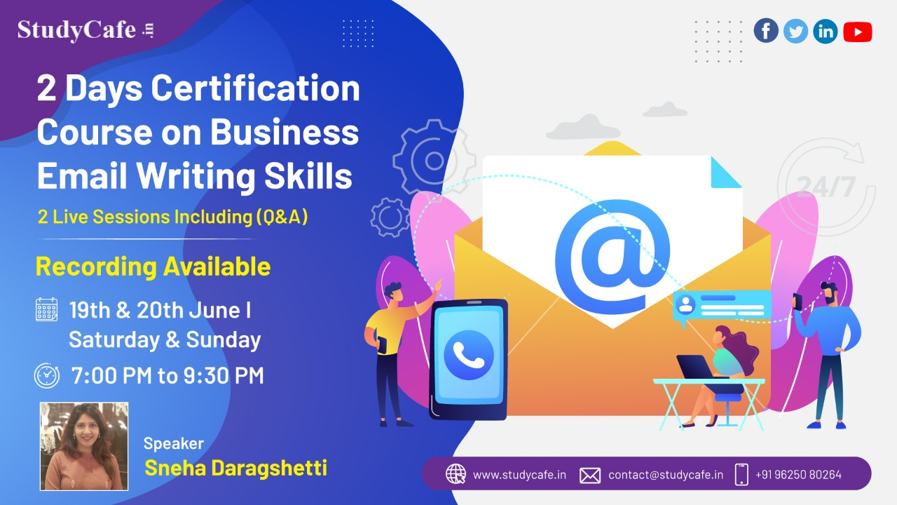 Join 2 Days Effective Business Email Writing Certificate Course