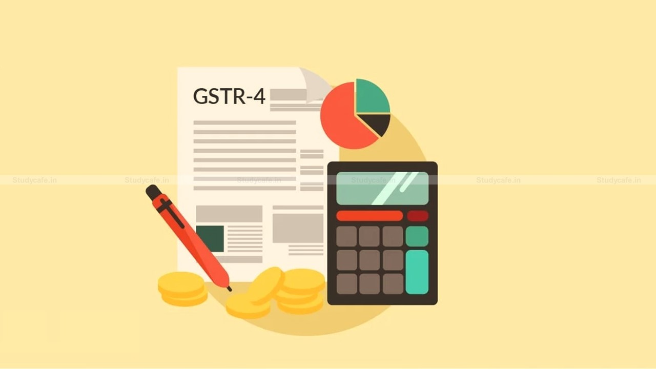 Due Date for Furnishing GSTR-4 For FY 2020-21 extended to 31st July 2021