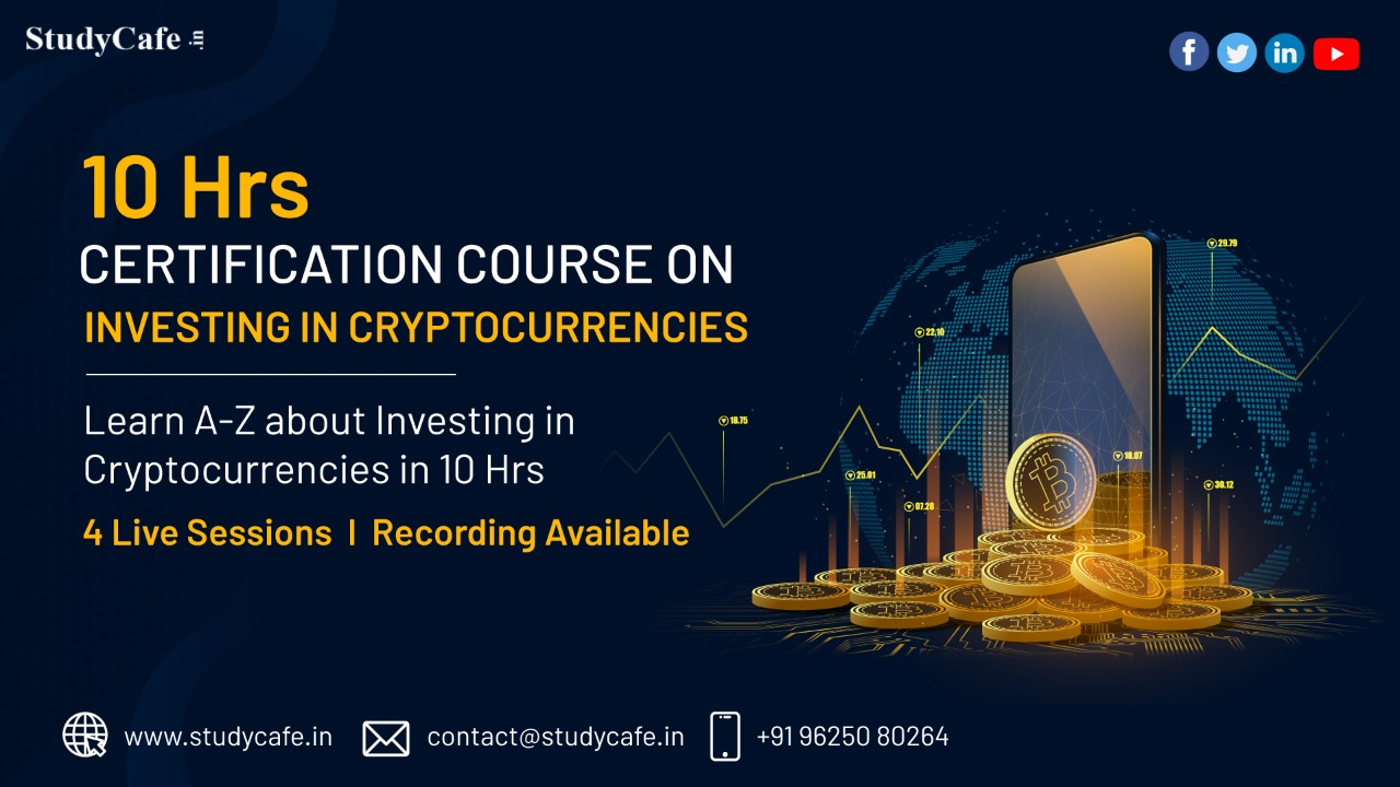 Certificate Course on A-Z about Investing in Cryptocurrencies