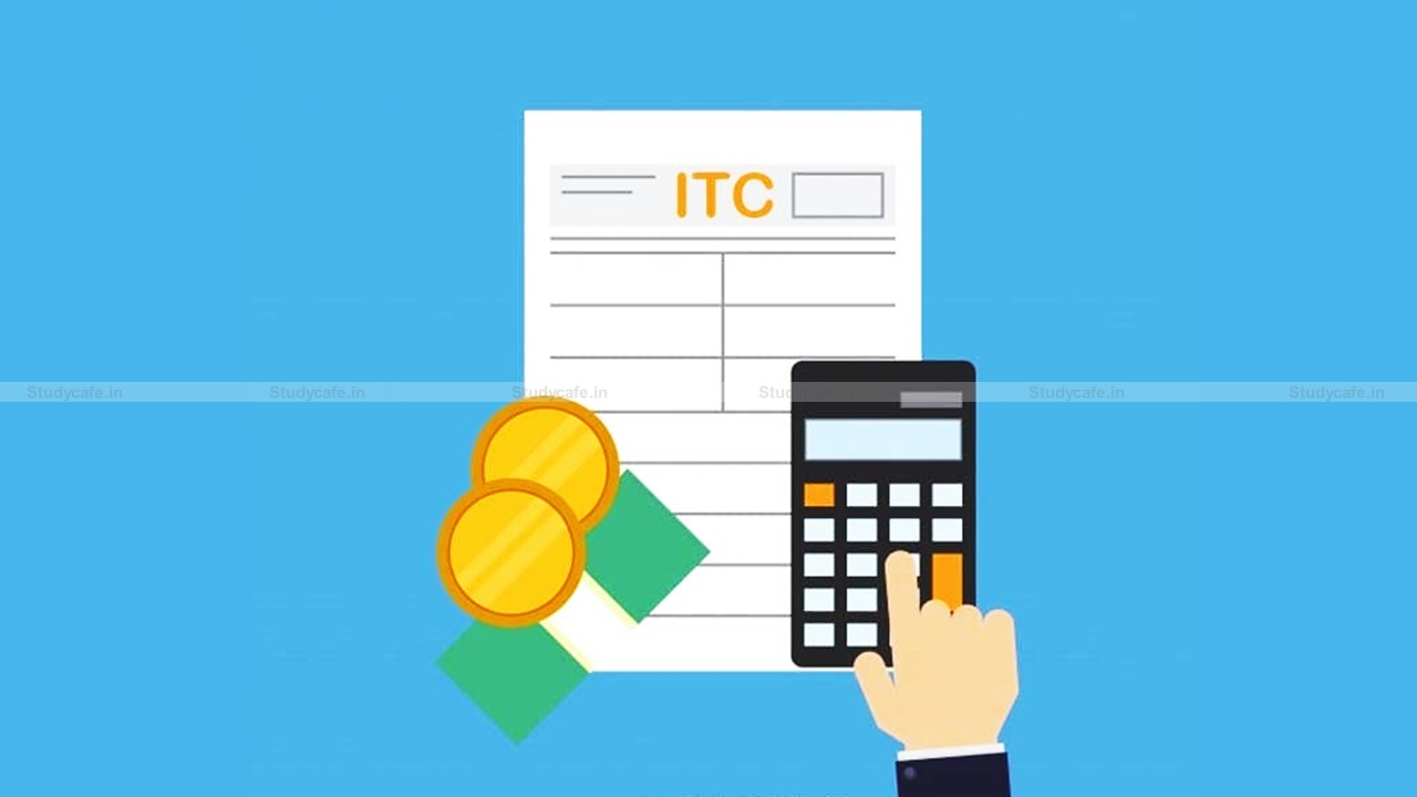 Reversal formula of ITC on exempted supplies applicable to 'common input tax' credit