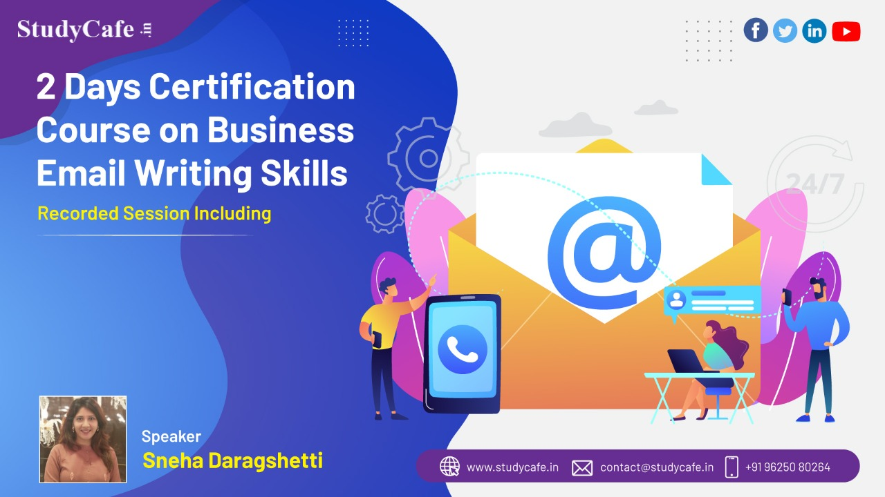 2 Days Certification Course on Business Email Writing Skills