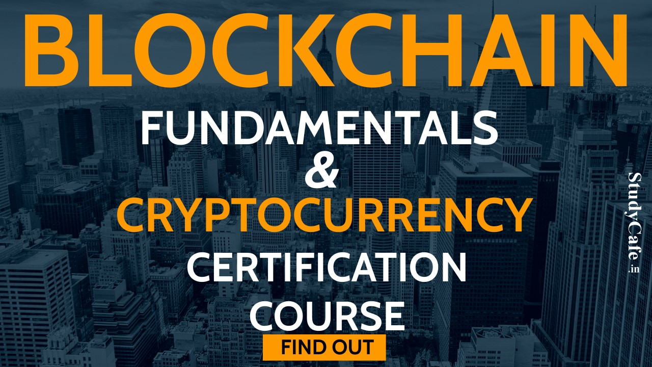 Blockchain & Cryptocurrency Certification Course