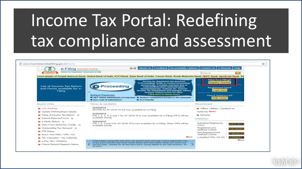 Income Tax Portal: Redefining tax compliance and assessment