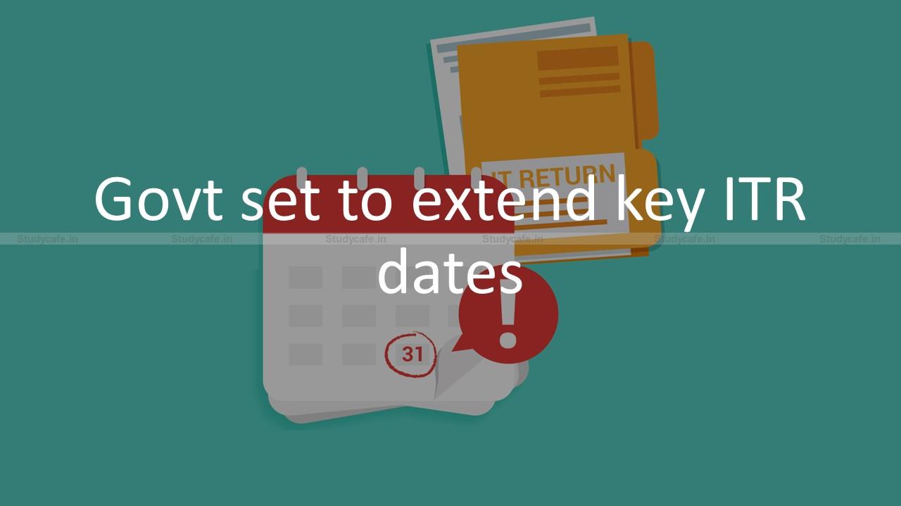 Govt set to extend key ITR dates amid portal glitches