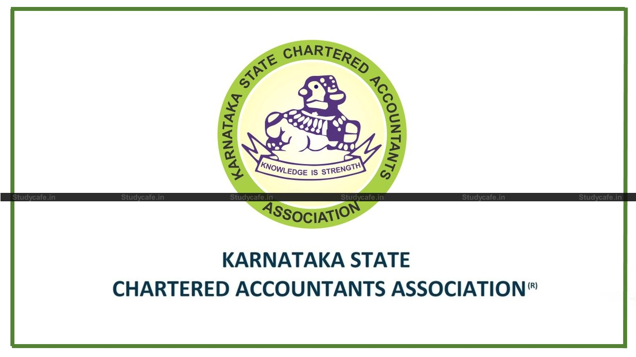 KSCAA urges Finance Minister to Rationalise Penalty provisions under Section 270AA of IT Act