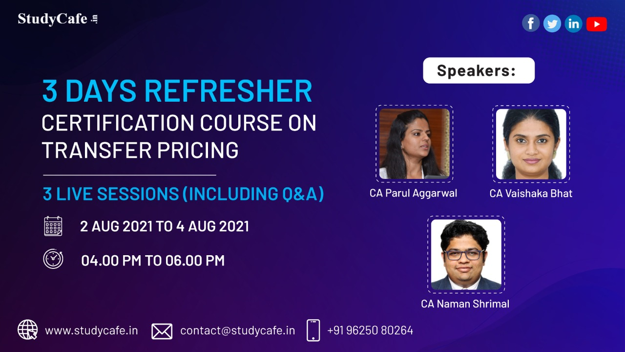 Online Certification Course on Transfer Price