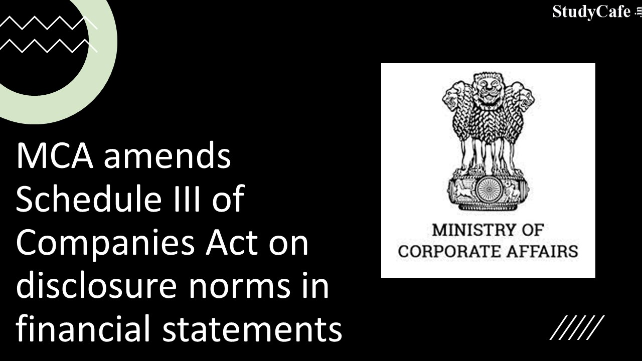 Companies to disclose Details of Crypto Currency/ CSR Activities etc in financial statements