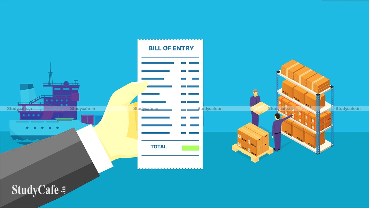 Bill of Entry Information getting Retrieved from the ICEGATE Portal