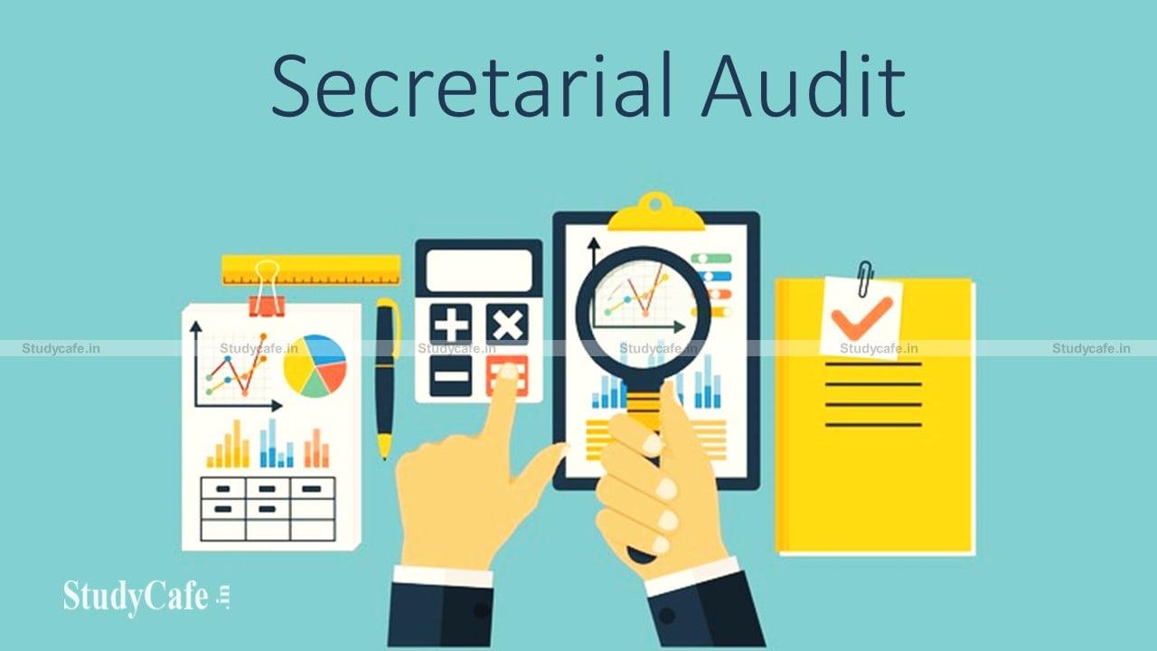 Corporate Compliance Desk : Secretarial Audit