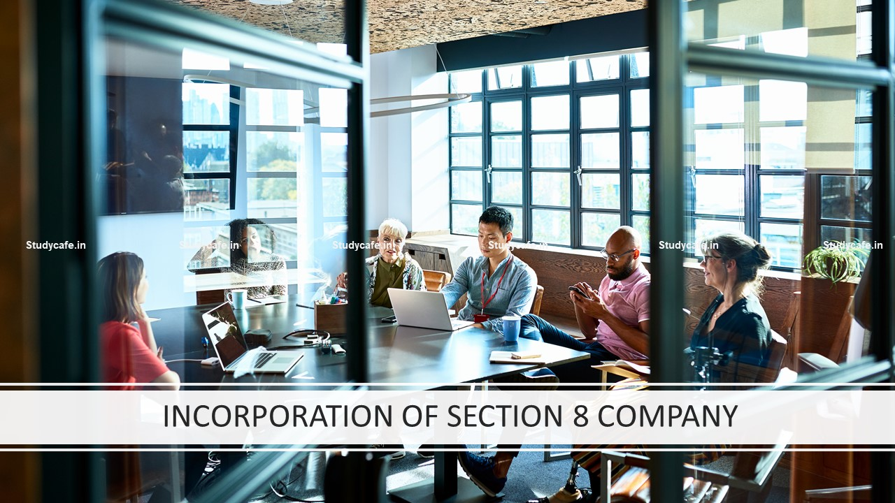 INCORPORATION OF SECTION 8 COMPANY
