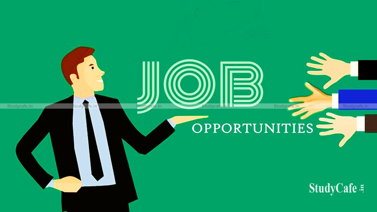 Job Opportunity in Ministry of Corporate Affairs