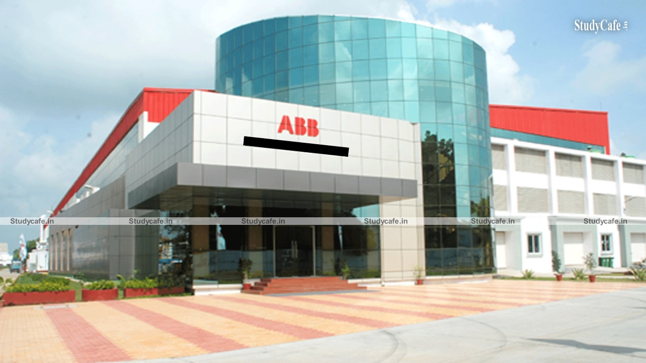 Job Opportunity with ABB for Qualified CA/CMA/MBA