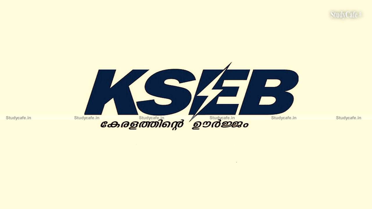 KSEB invites applications from Chartered Accountant / Cost Accountant Firms to Conduct GST Audits