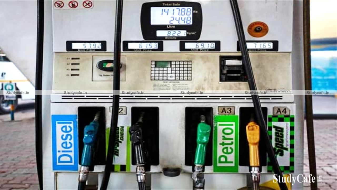 GST Council may consider the proposal to bring petrol & diesel in GST regime on 17th Sep