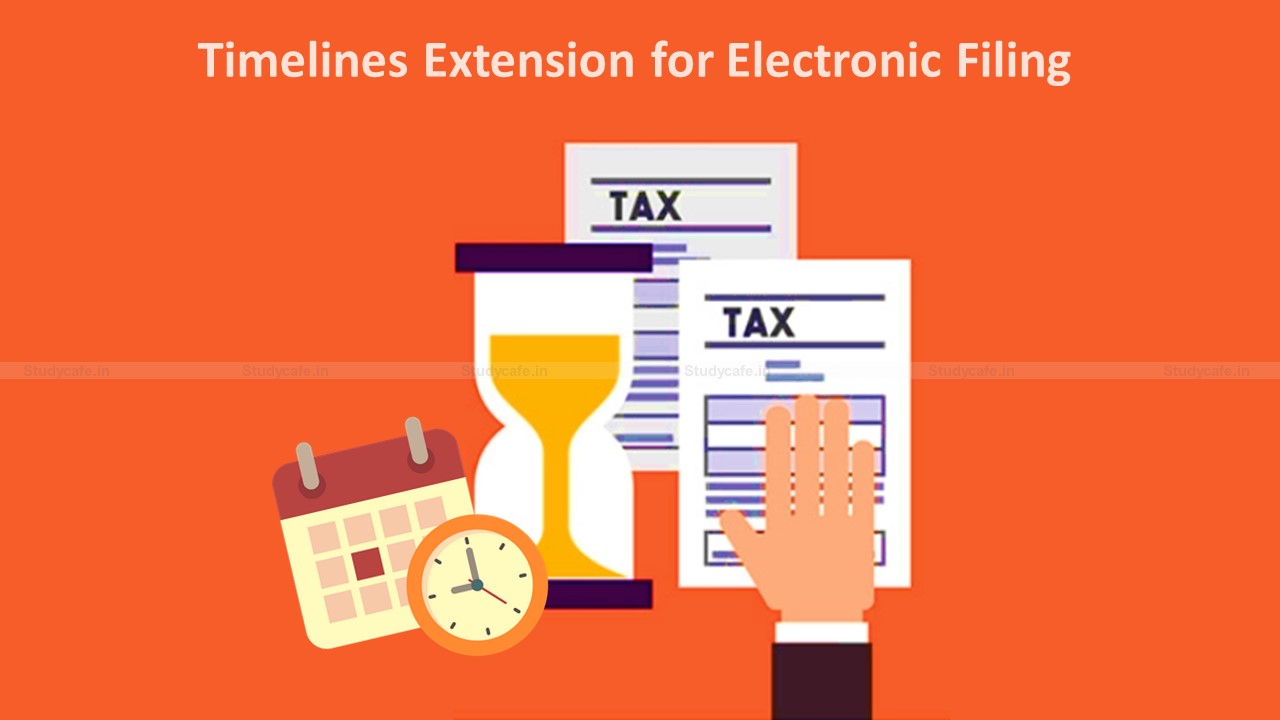 Summary Chart of Extended Due Dates of Income Tax Compliances