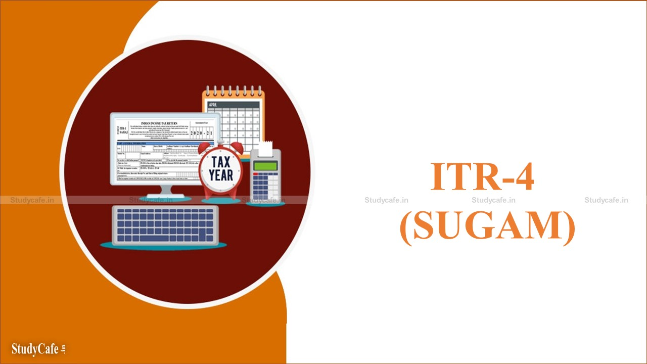 All about ITR-4 (SUGAM)