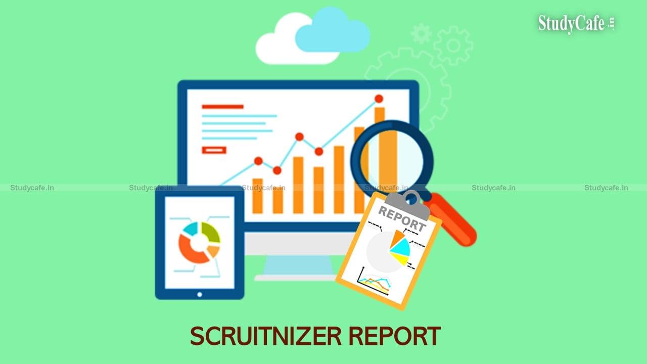 SCRUITNIZER REPORT AS PER COMPANIES ACT 2013