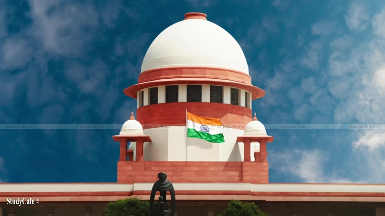 SC to Government: Keep the taxation structure straight forward & user-friendly