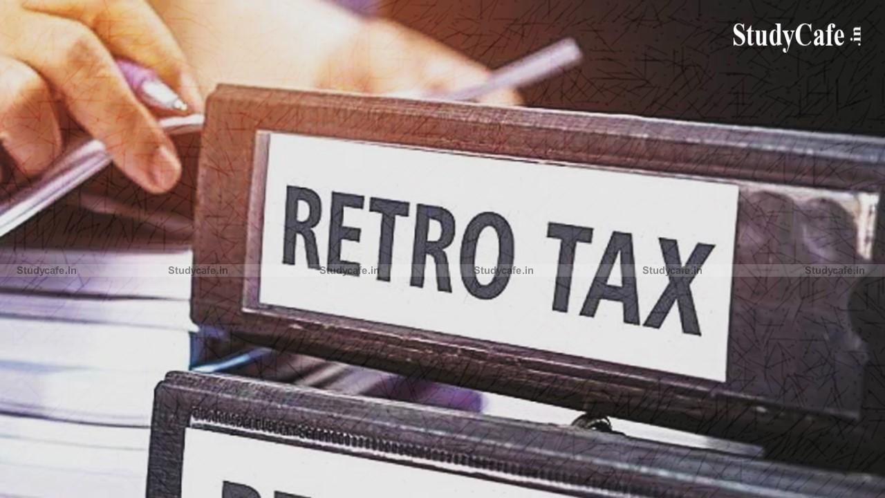 Retrospective Tax Disputes Settlement rules notified by CBDT