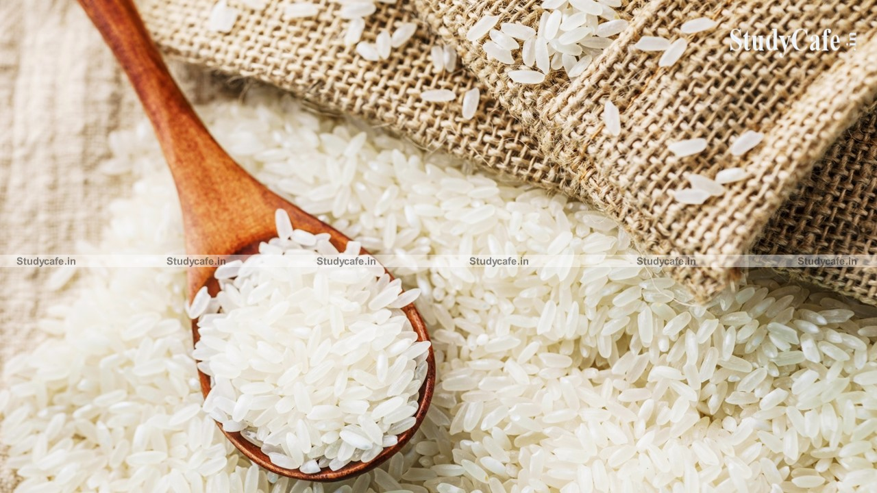 CBIC reduces rate of GST on Fortified Rice Kernel (Premix) supply for ICDS