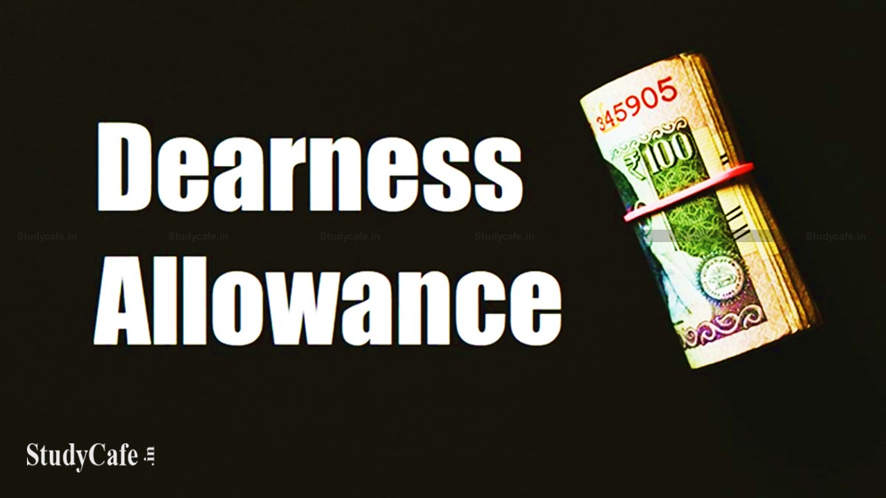 3% Dearness Allowance hike to central govt employees effective from July 1