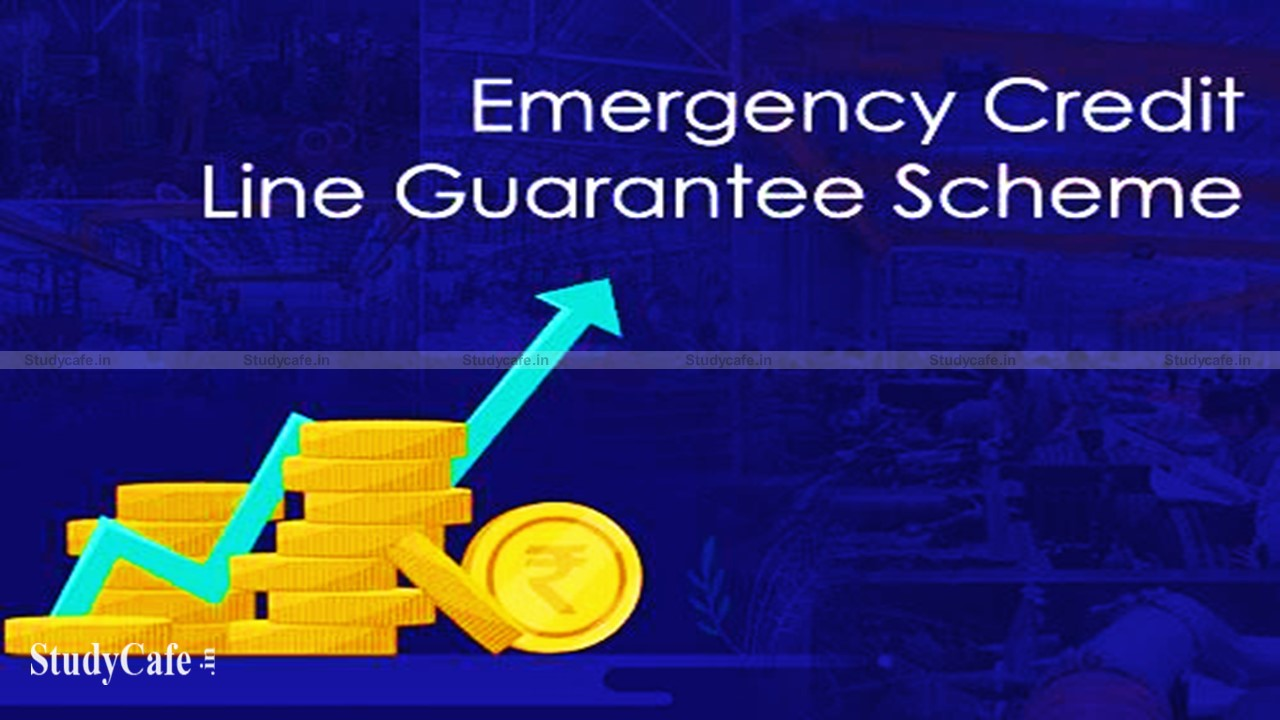 EMERGENCY CREDIT LINE GUARANTEE SCHEME MODIFIED AND EXTENDED TILL 31.03.2022