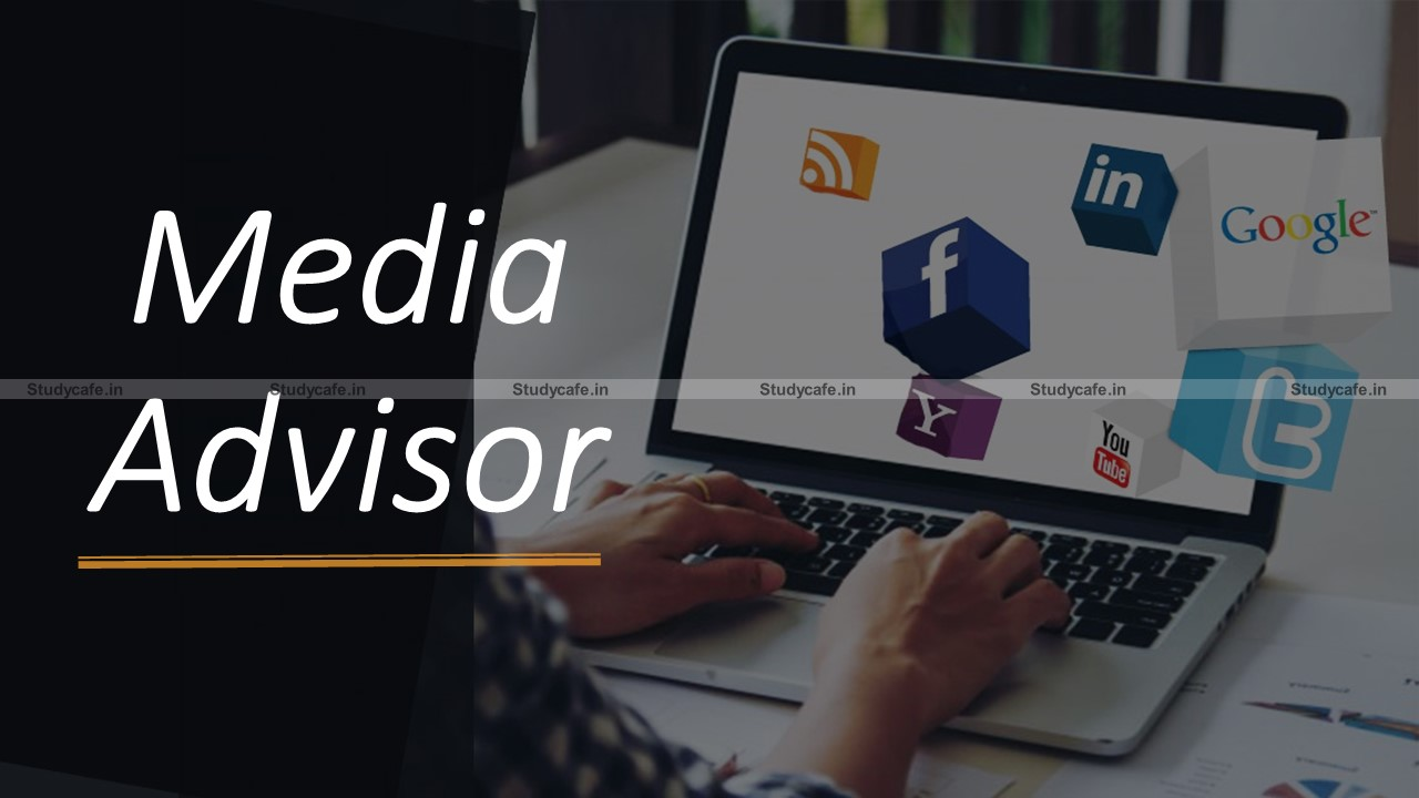 Engagement of Media Advisor on contract in IEPF Authority