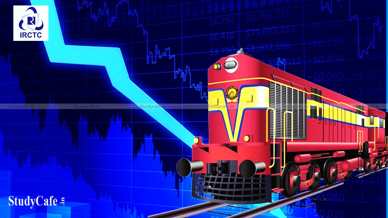 IRCTC shares plunge more than Rs.1000 after hitting Rs.1 Trillion Market Cap