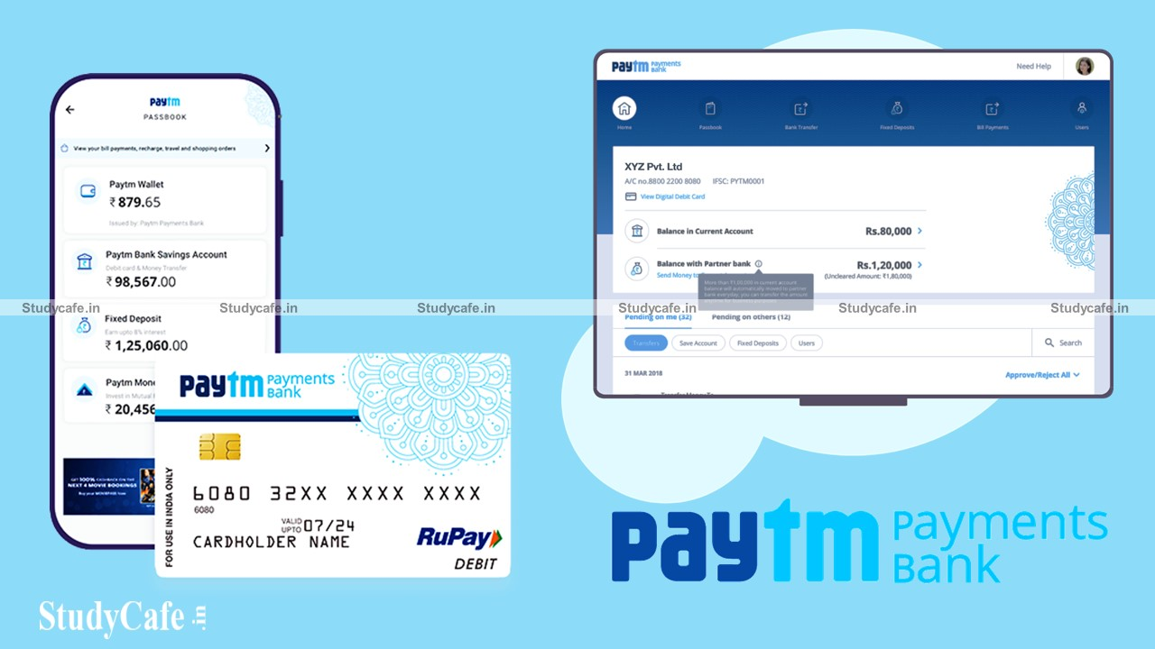 """Inclusion of """"Paytm Payments Bank Limited"""" in the Second Schedule of the RBI Act, 1934"""