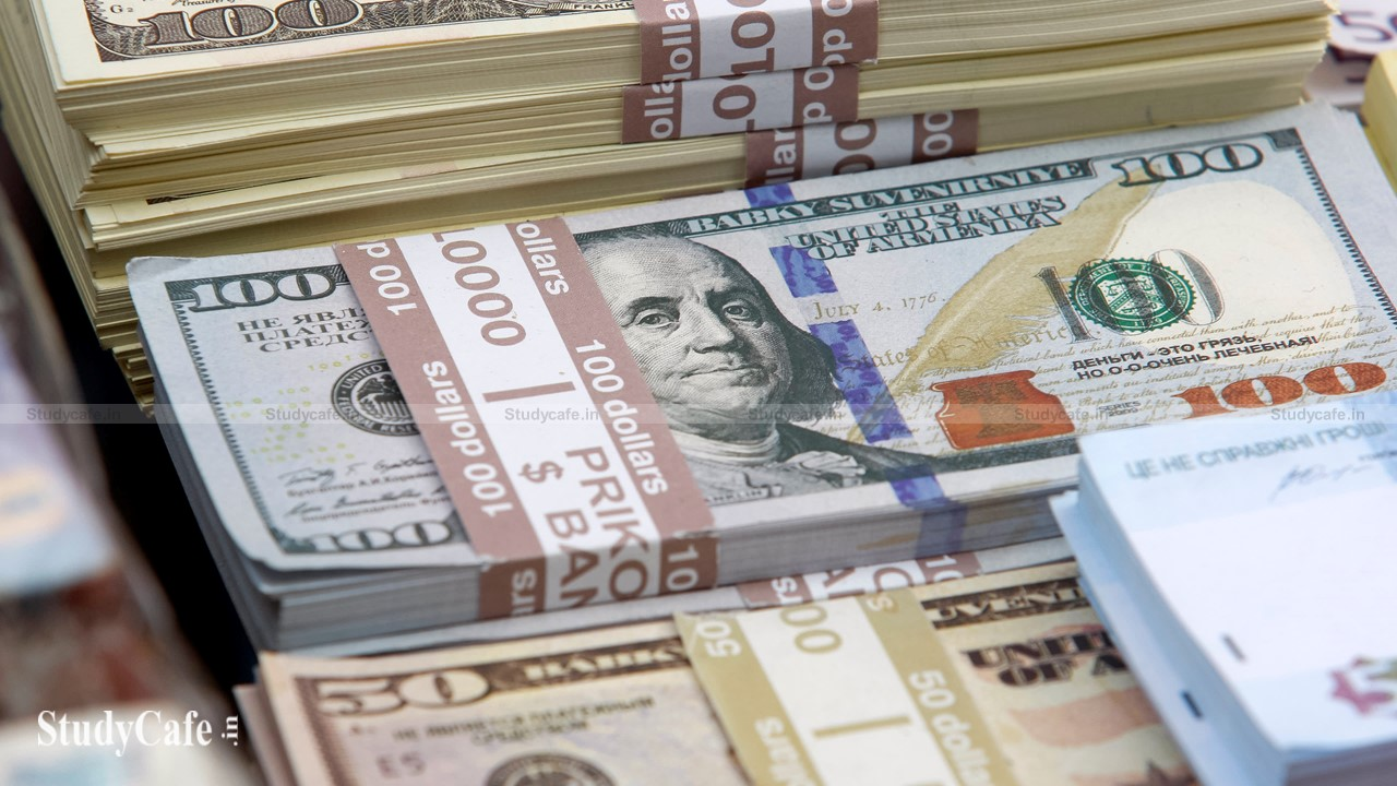 Indians spent a total of Rs 263 billion in foreign currency fees in 2020