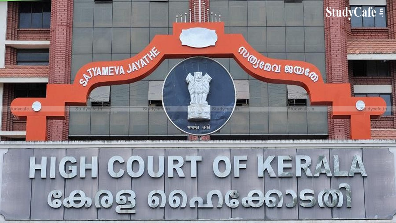 Kerala HC issued notice to Govt. in writ challenging GST on goods and services provided by Association to its members