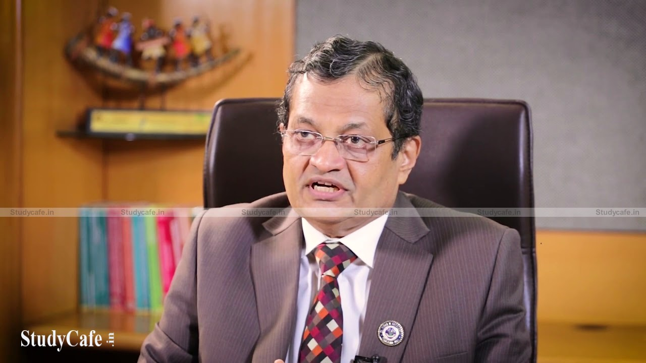 President of ICAI recommends CA students to prepare for a career as a global professional