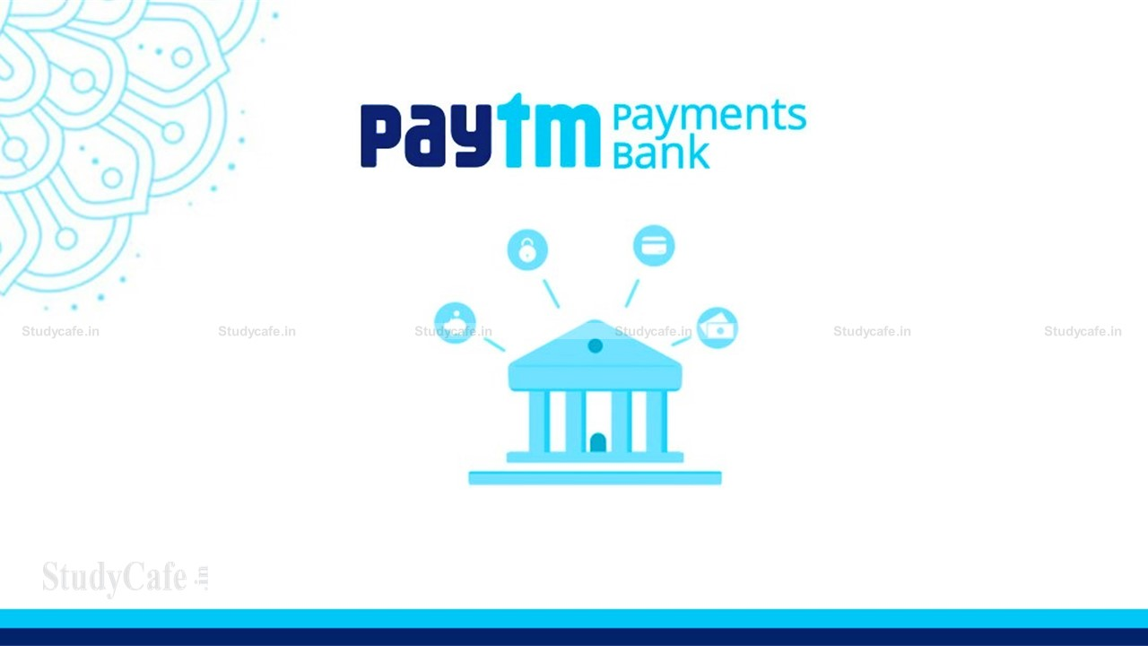 RBI imposes Monetary Penalty of ₹1 crore on Paytm Payments Bank