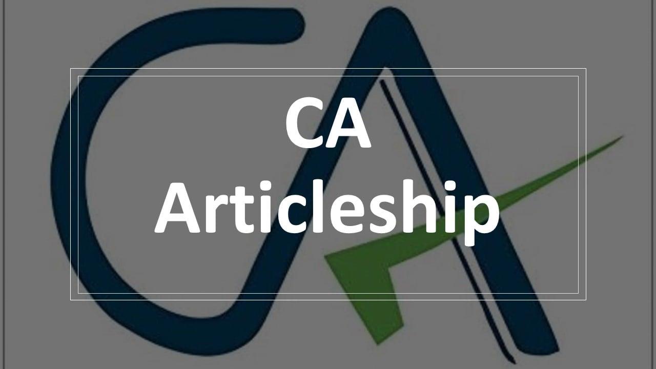 CA Articleship enrollment: Few Days Left to Apply